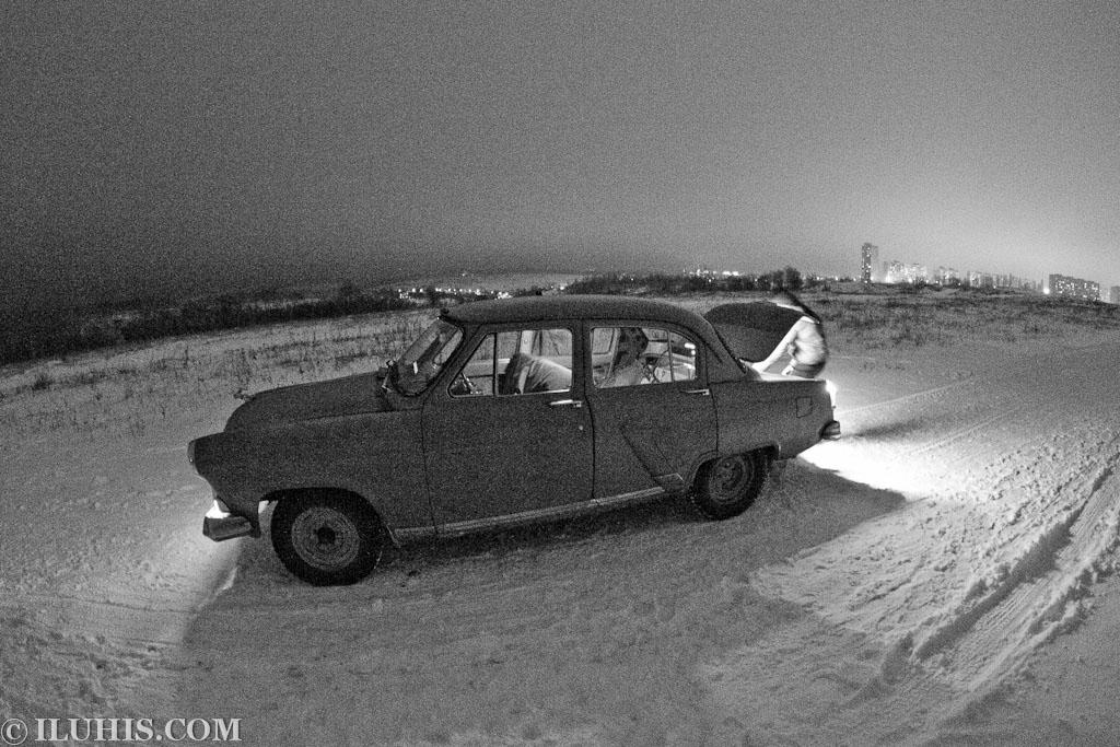 ГАЗ-21. Tokina Fisheye 10-17.
