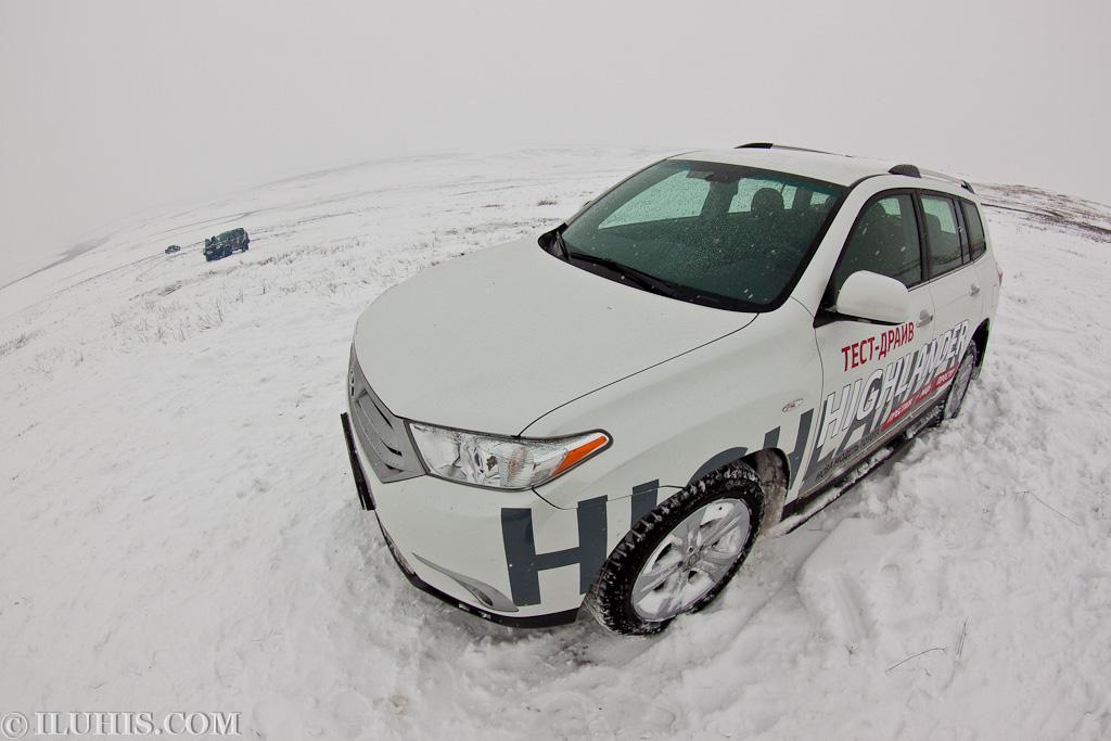 Джип-фестиваль Рейд Трех Городов 2011. Второй день. Toyota Highlander