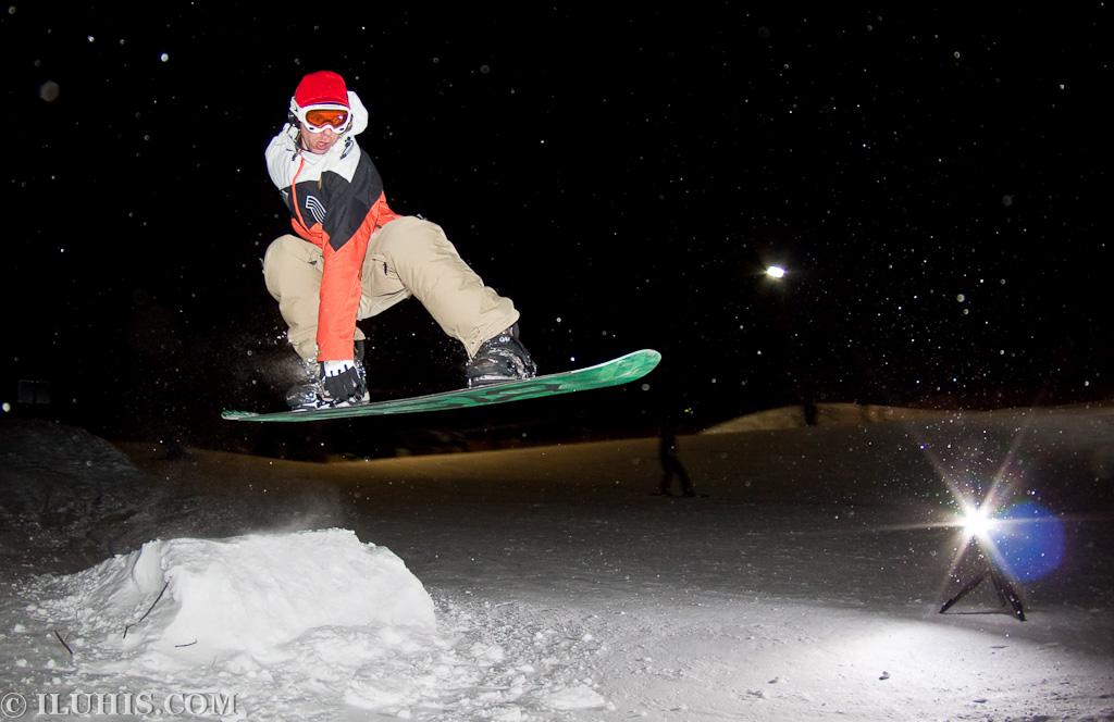 SnowBoard в Харьковской Швейцарии