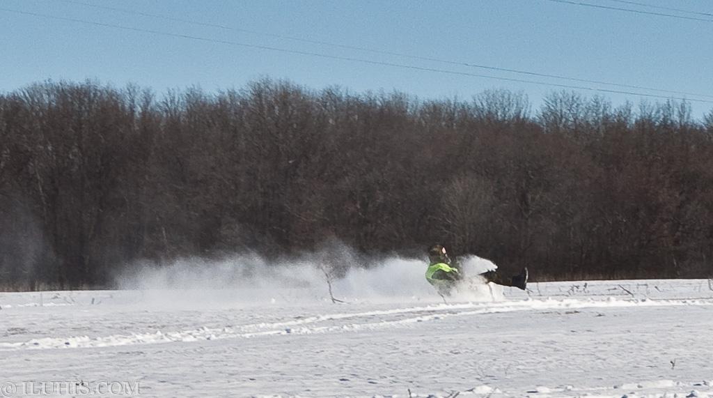 Зимняя покатушка по лесу или в -10 по Цельсию на кабриолете...