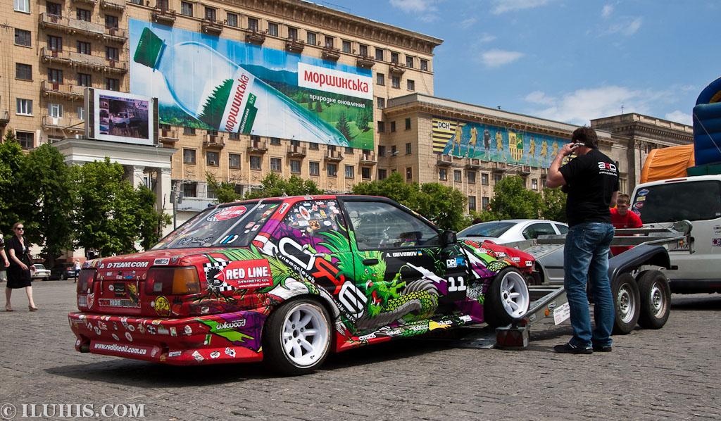 Дрифт в Харькове