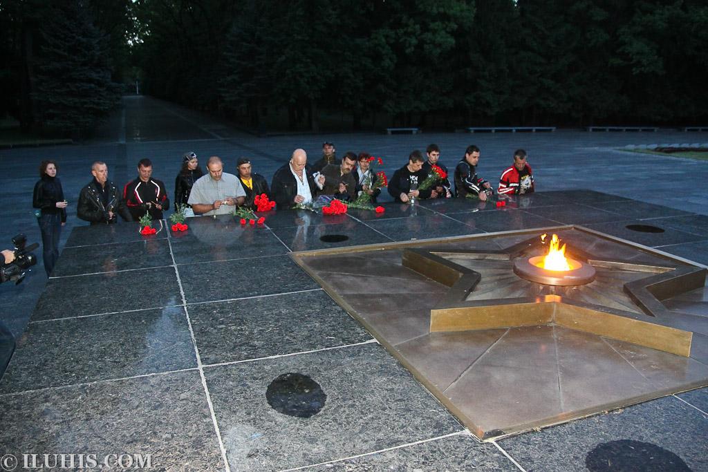 Байкеры почтили память погибших на войне. Харьков