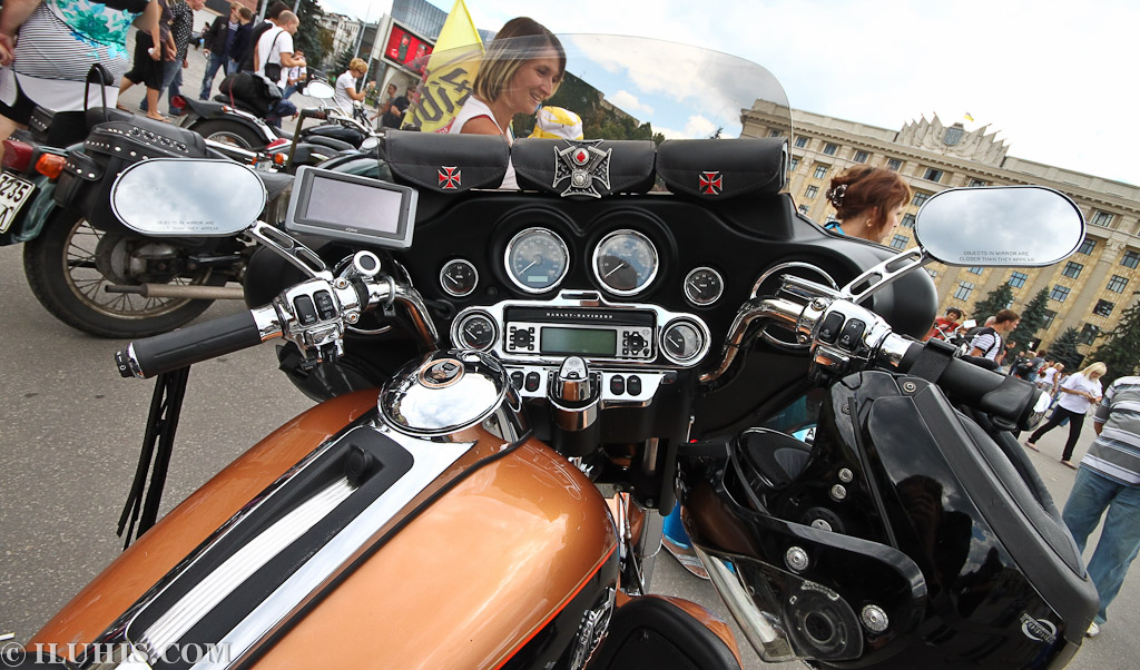 Harley Davidson. Мотогонево 2011.