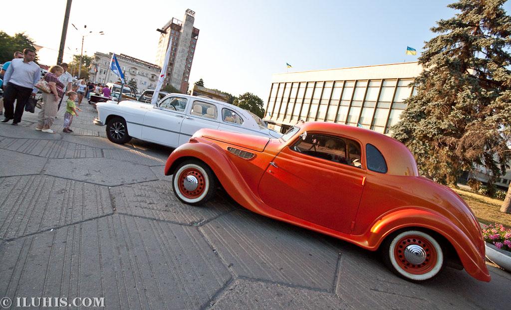 """BMW 327 coupe. Автопробег """"100 лет в дороге"""". Днепропетровск"""