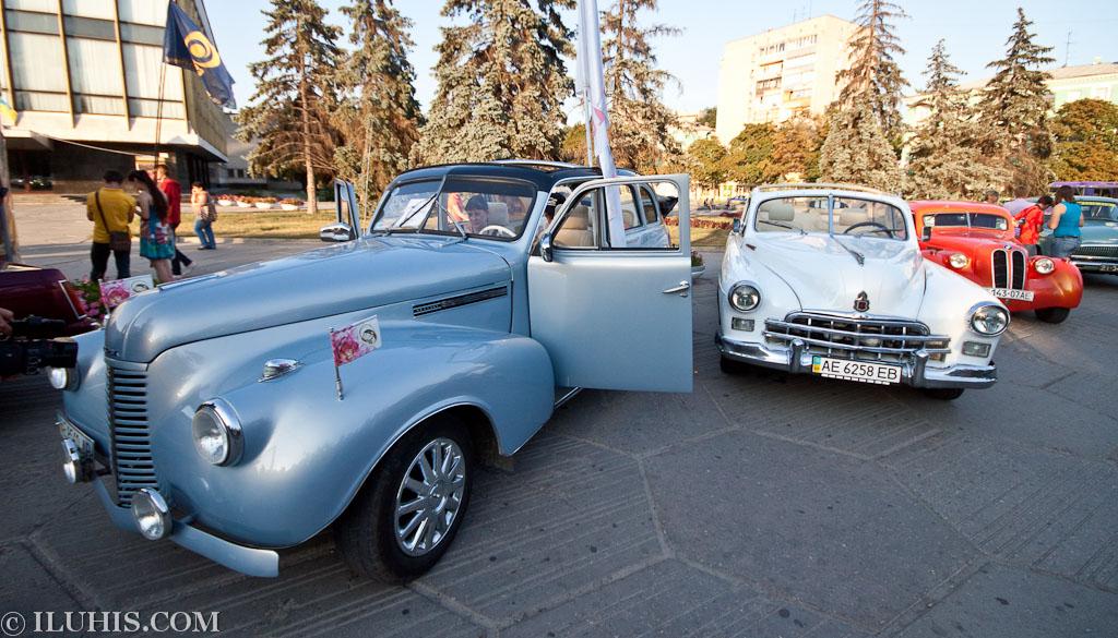 Buick Special и ГАЗ 12 ЗИМ кабриолет