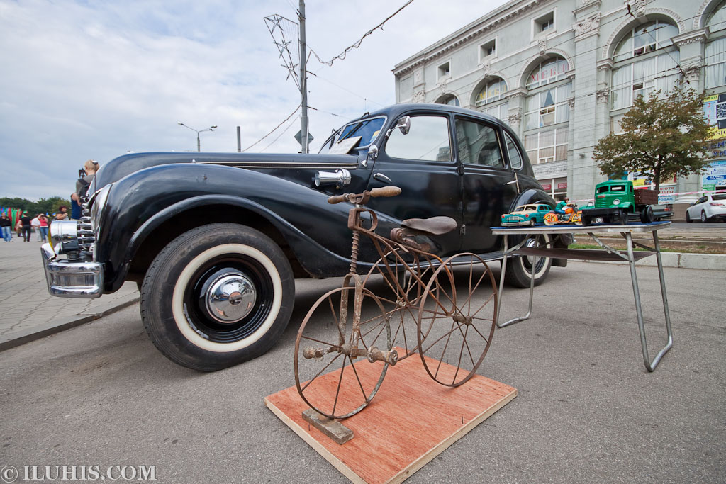 "BMW 340. Автопробег ""100 лет в дороге"""