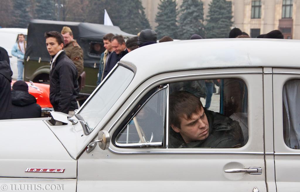 Выставка раритетной техники Самоход. Харьков