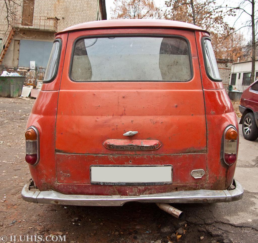 Skoda 1202 1961 г.в.