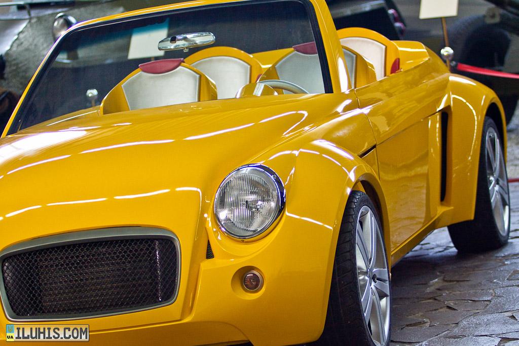 Музей ретро автомобилей «Фаетон», прототип Запорожца ЗАЗ-965