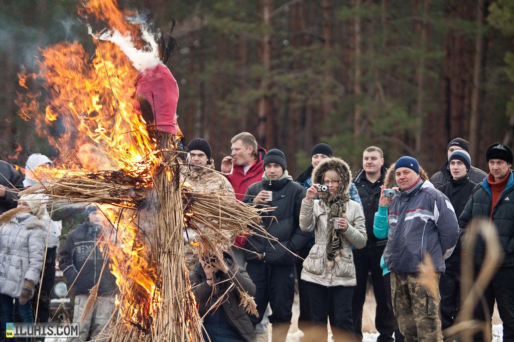 Сжигание Масленицы
