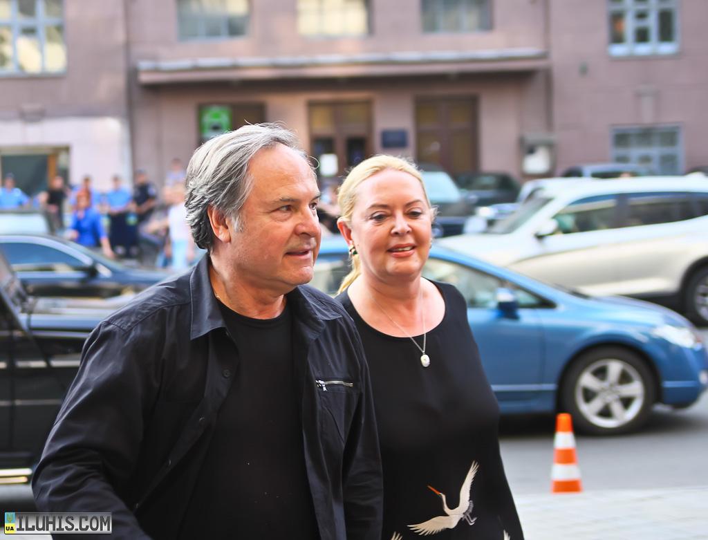 Родион Нахапетов и Наталья Шляпникофф. Кинофестиваль Харьковская Сирень 2012