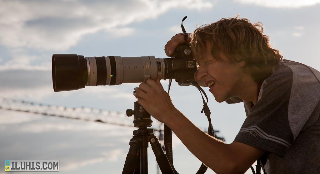 Canon EF 100-400mm f/4.5-5.6 L IS USM + 2х extender + Canon500D