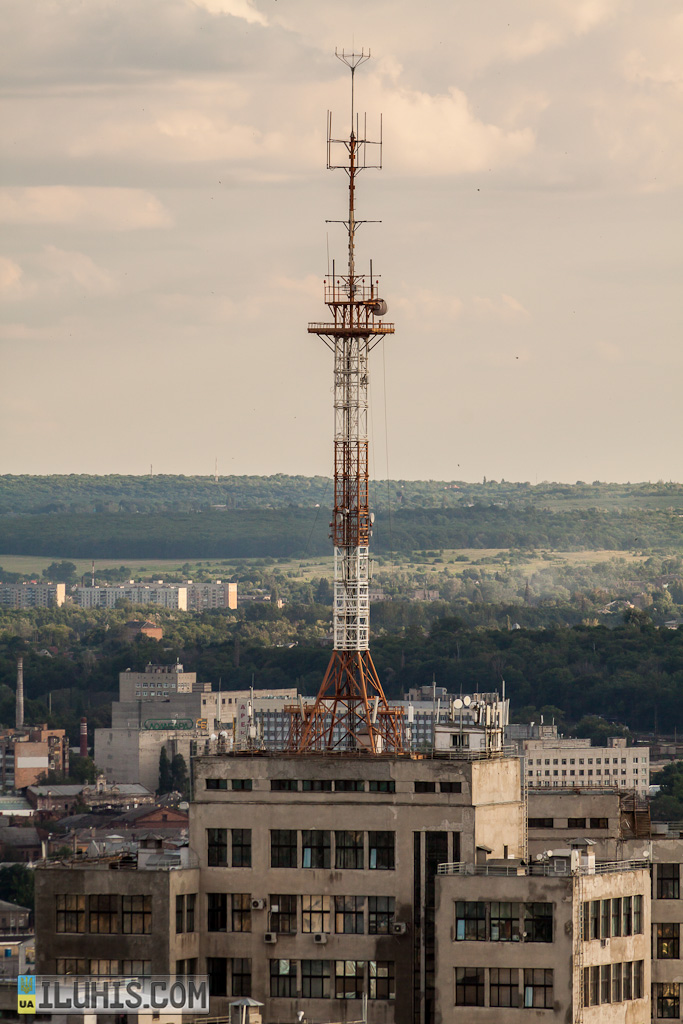 Антенна на Госпроме