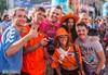 Третье шествие голландских болельщиков в Харькове