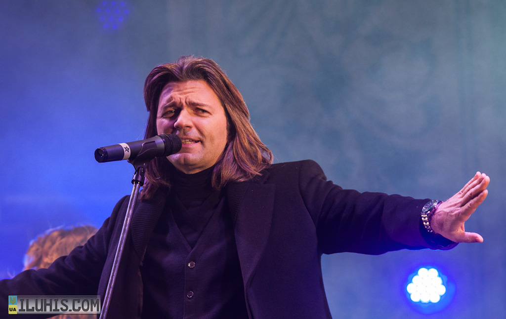 Концерт Дмитрия Маликова в Купянске