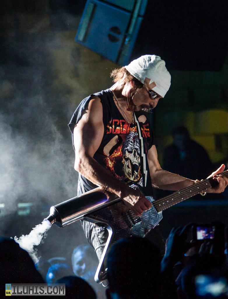 Концерт группы Scorpions в Харькове