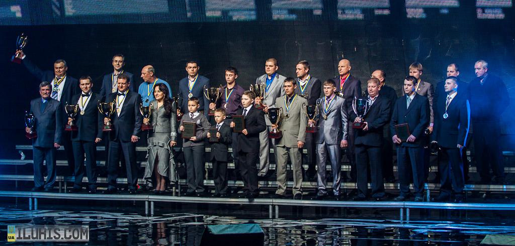Празднование 20 лет ФАУ, награждение призеров 2012 года