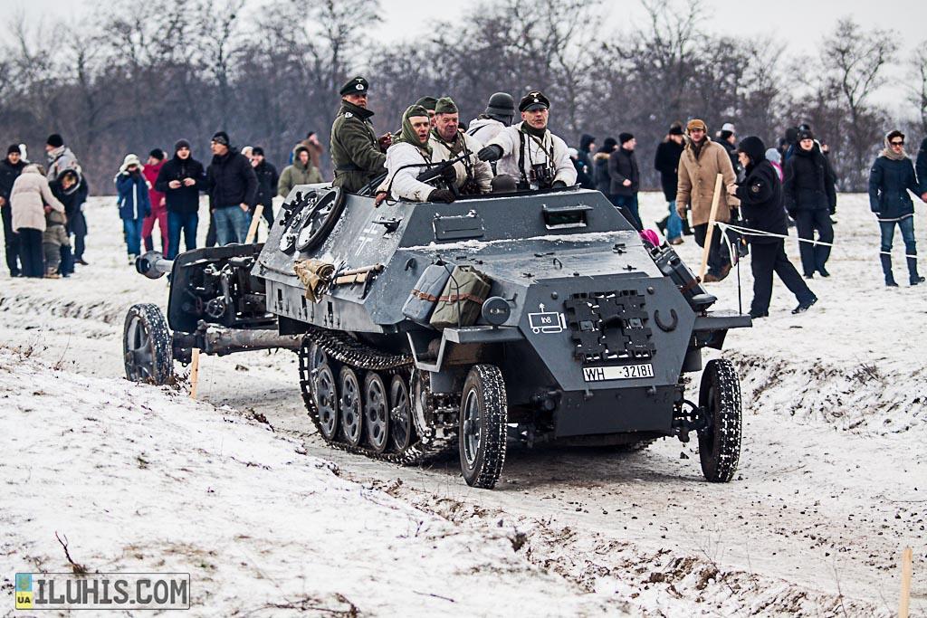 Немецкий бронетранспортер Sd Kfz 251 Hanomag