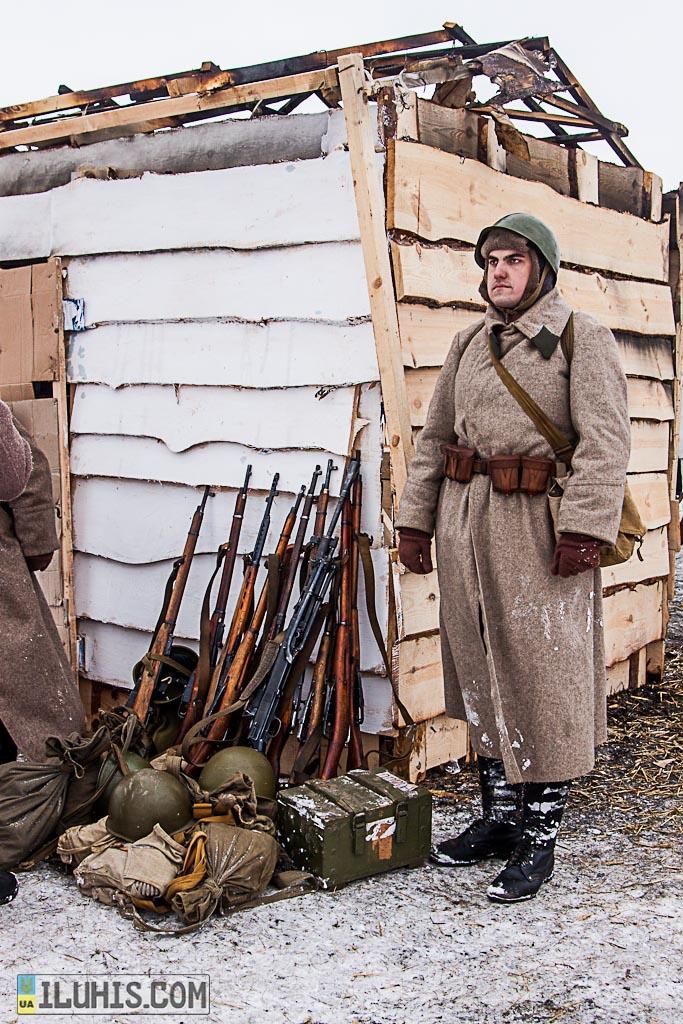 Реконструкция сражения при Соколово