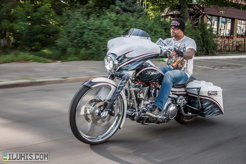 Harley Davidson Street Glide Cocktail от IronMoto