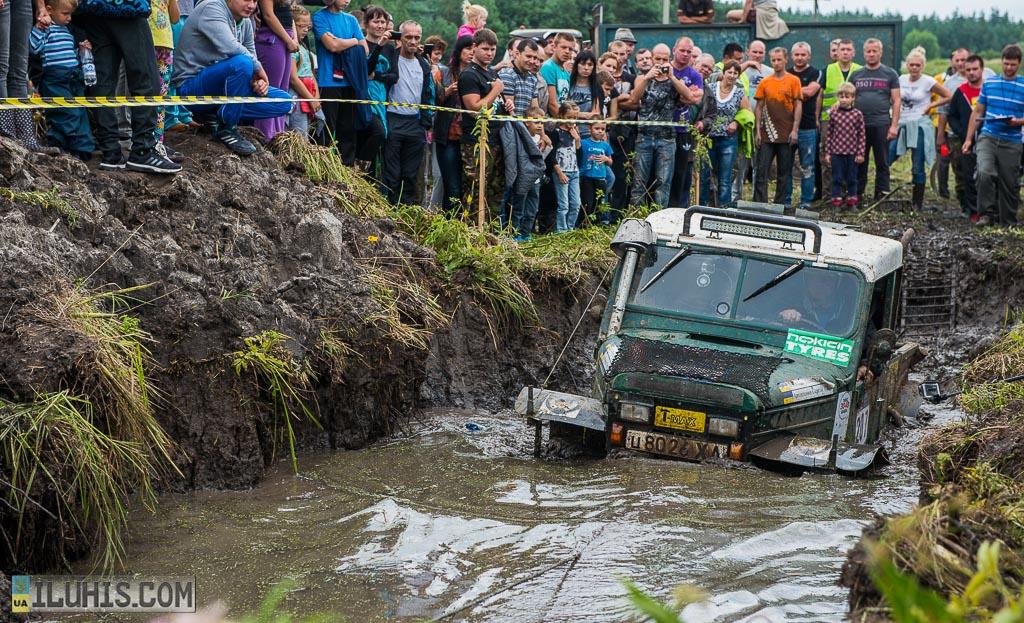 Первый этап украинской серии Rain Forest Challenge.