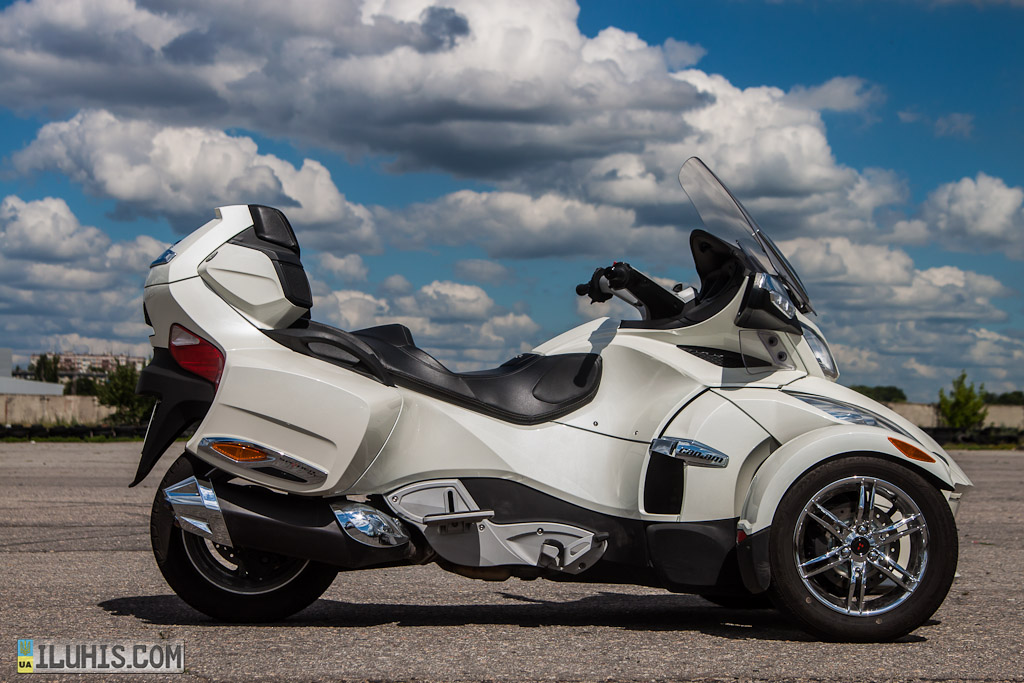 Тест-драйв Can-Am Spyder в Харькове