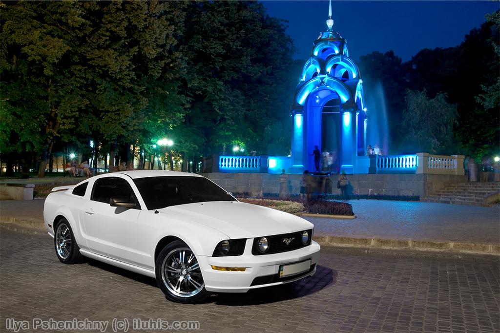 Ford Mustang GT500. Харьков, Зеркальная Струя