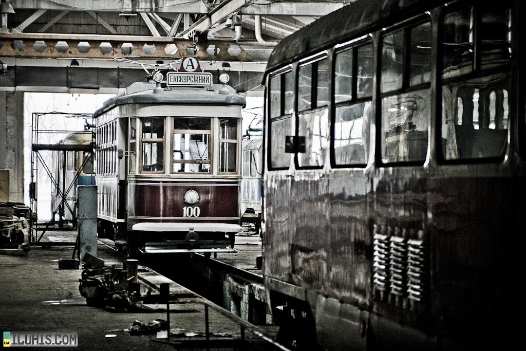 Трамвай Аннушка в Харькове