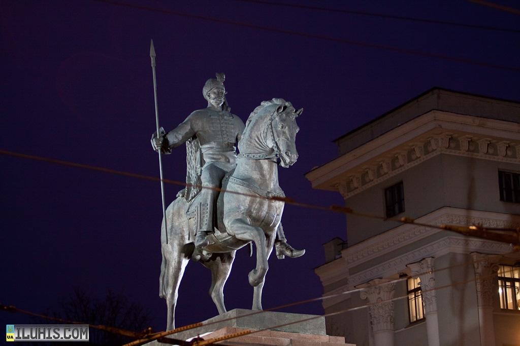 Козак Харько. Памятник основателю Харькова